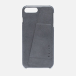 Чехол Mujjo Leather Wallet iPhone 7 Plus Grey фото- 0