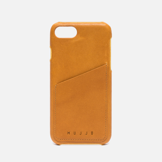 Чехол Mujjo Leather Wallet iPhone 7 Tan