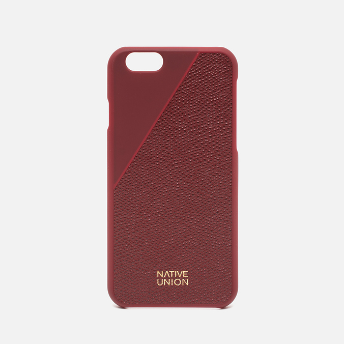 Чехол Native Union Clic Leather IPhone 6/6s Bordeaux