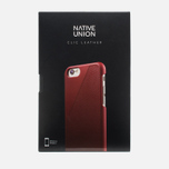 Чехол Native Union Clic Leather IPhone 6/6s Bordeaux фото- 6