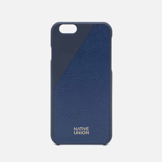 Чехол Native Union Clic Leather IPhone 6/6s Marine Blue