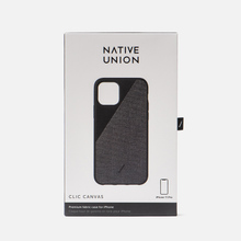 Чехол Native Union Clic Canvas iPhone 11 Pro Black фото- 3