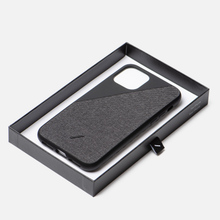 Чехол Native Union Clic Canvas iPhone 11 Pro Black фото- 1