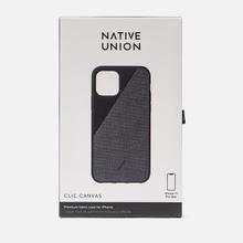 Чехол Native Union Clic Canvas iPhone 11 Pro Max Black фото- 3