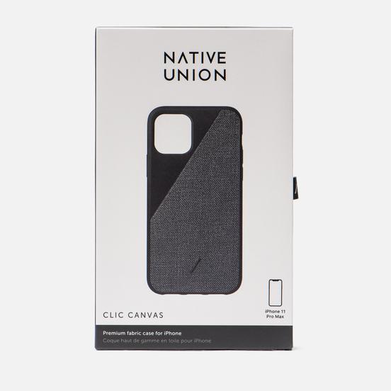 Чехол Native Union Clic Canvas iPhone 11 Pro Max Black