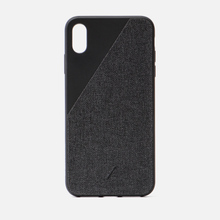 Чехол Native Union Clic Canvas iPhone Хs Max Black фото- 0