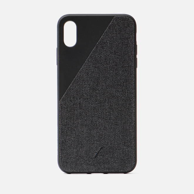 Чехол Native Union Clic Canvas iPhone Хs Max Black