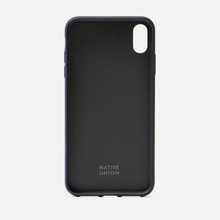 Чехол Native Union Clic Canvas iPhone Хs Max Black фото- 1