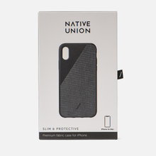 Чехол Native Union Clic Canvas iPhone Хs Max Black фото- 3