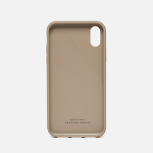 Чехол Native Union Clic Canvas iPhone X Beige фото- 1