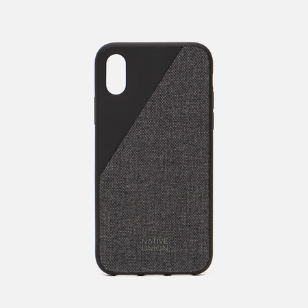 Чехол Native Union Clic Canvas iPhone X Black