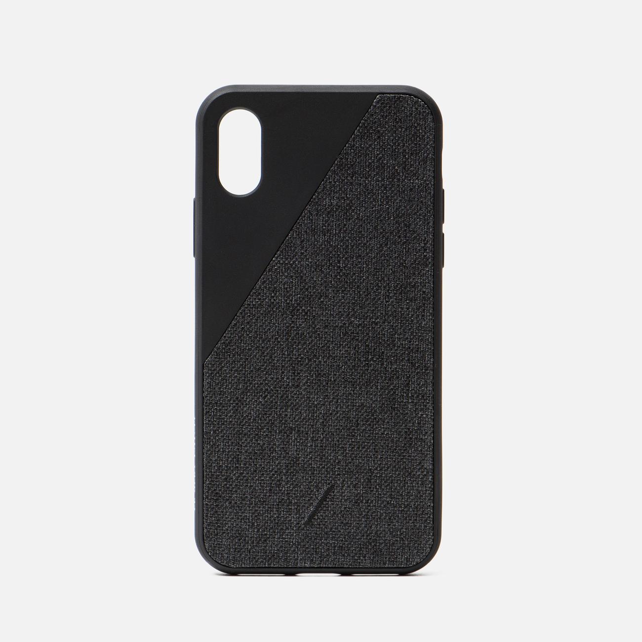 Чехол Native Union Clic Canvas iPhone X/Хs Black