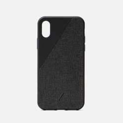Чехол Native Union Clic Canvas iPhone X/Хs Black