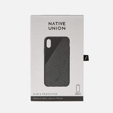 Чехол Native Union Clic Canvas iPhone X/Хs Black фото- 3