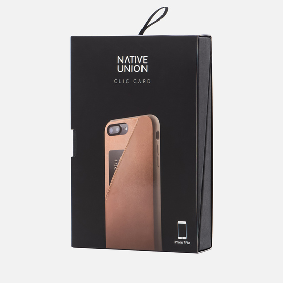 Чехол Native Union Clic Card iPhone 7 Plus Taupe