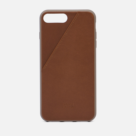 Чехол Native Union Clic Card iPhone 7 Plus Taupe