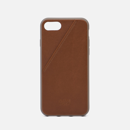 Чехол Native Union Clic Card iPhone 7 Taupe