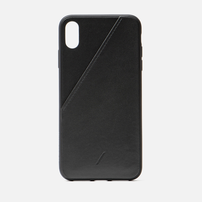 Чехол Native Union Clic Card iPhone Хs Max Black