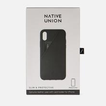 Чехол Native Union Clic Card iPhone Хs Max Black фото- 3