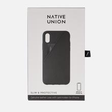 Чехол Native Union Clic Card iPhone X/Xs Black фото- 1