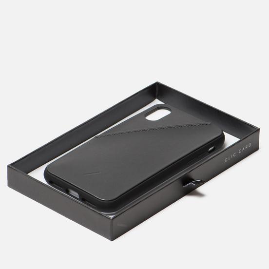 Чехол Native Union Clic Card iPhone X/Xs Black