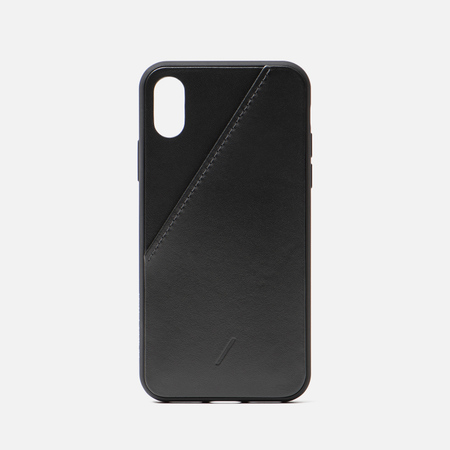 Чехол Native Union Clic Card iPhone X/Xs Black