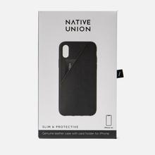 Чехол Native Union Clic Card iPhone Xr Black фото- 3
