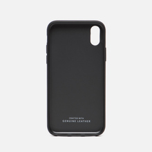 Чехол Native Union Clic Card Leather iPhone X Black фото- 1