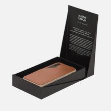 Чехол Native Union Clic Card Leather iPhone X Taupe фото- 2