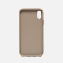 Чехол Native Union Clic Card Leather iPhone X Taupe фото- 1