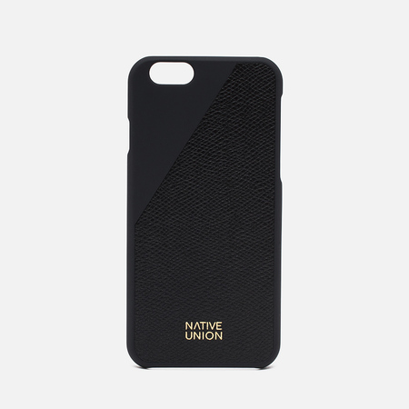Native Union Clic Leather IPhone 6/6s Plus Case Black