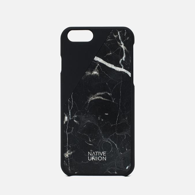 Чехол Native Union Clic Marble IPhone 6/6s Black