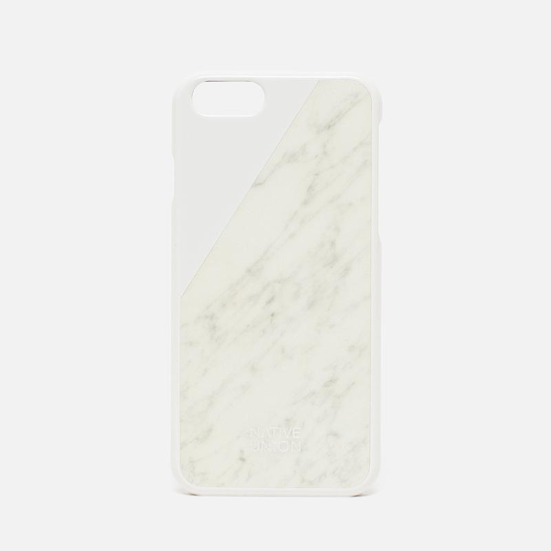 Чехол Native Union Clic Marble IPhone 6/6s White