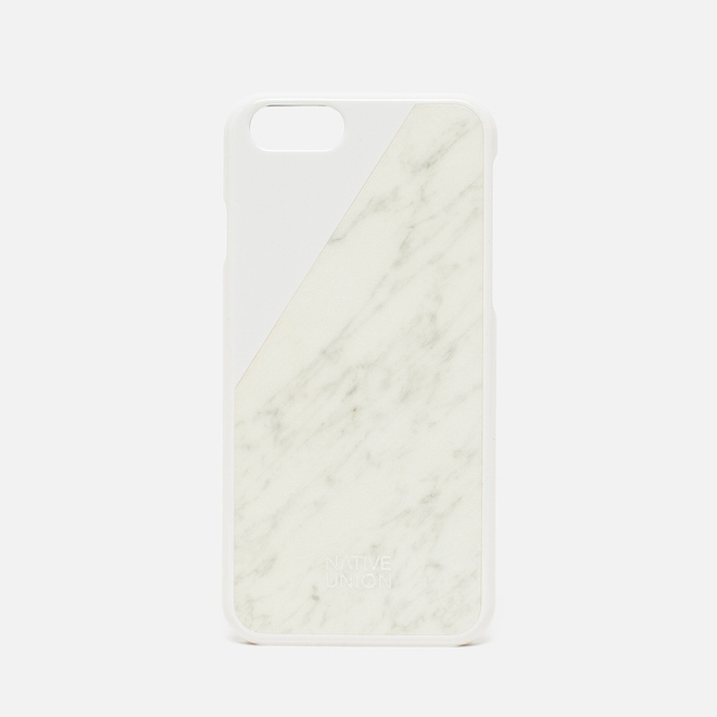 Чехол Native Union Clic Marble IPhone 6/6s White