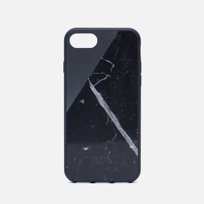Чехол Native Union Clic Marble iPhone 7 Black