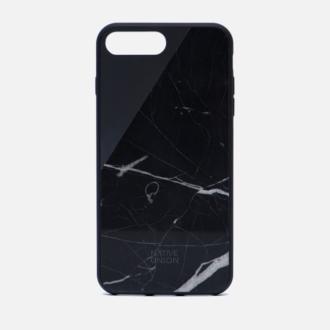 Чехол Native Union Clic Marble iPhone 7 Plus Black