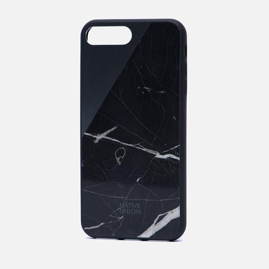 Чехол Native Union Clic Marble iPhone 7 Plus Black