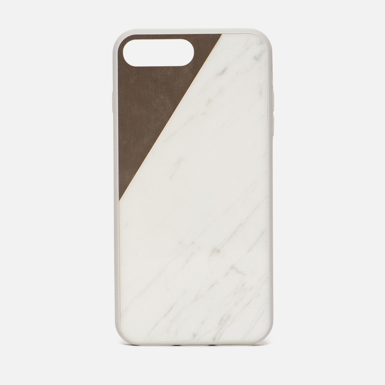 Чехол Native Union Clic Marble iPhone 7 Plus White/Rose