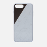 Чехол Native Union Clic Marble iPhone 7 Plus White/Rose фото- 0