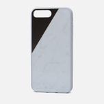 Чехол Native Union Clic Marble iPhone 7 Plus White/Rose фото- 1