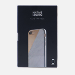 Чехол Native Union Clic Marble iPhone 7 White/Rose фото- 4