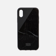 Чехол Native Union Clic Marble iPhone X Black фото- 0