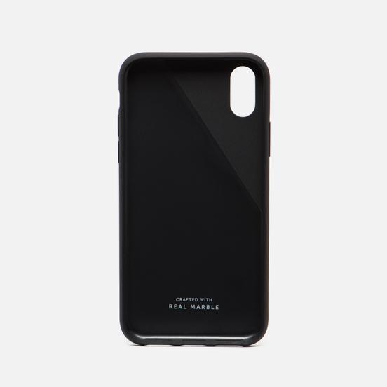 Чехол Native Union Clic Marble iPhone X Black