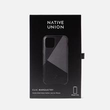 Чехол Native Union Clic Marquetry iPhone 11 Pro Black фото- 3