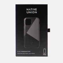 Чехол Native Union Clic Marquetry iPhone 11 Pro Max Black фото- 3