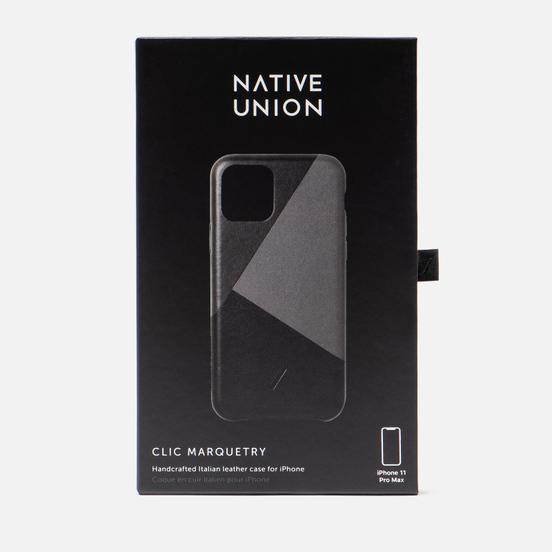 Чехол Native Union Clic Marquetry iPhone 11 Pro Max Black