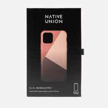 Чехол Native Union Clic Marquetry iPhone 11 Pro Max Rose фото- 3