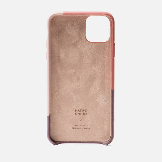 Чехол Native Union Clic Marquetry iPhone 11 Pro Max Rose