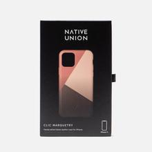 Чехол Native Union Clic Marquetry iPhone 11 Rose фото- 3
