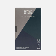 Чехол Native Union Clic Marquetry iPhone 7/8 Grey/Dark Green/Dark Blue фото- 3